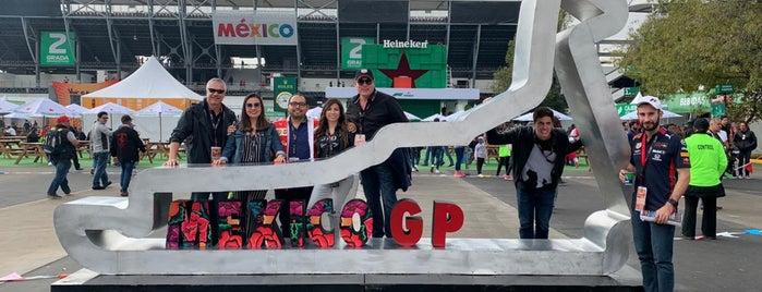 F1 Gran Premio de México is one of Lugares favoritos de Diana.