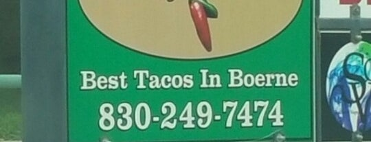 Mary's Tacos is one of The Daytripper's Boerne.