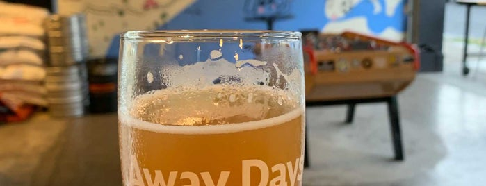 Away Days Brewing is one of Tempat yang Disukai Noland.