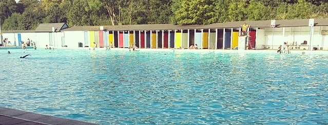 Tooting Bec Lido is one of Fitness:Barre/Yoga/Pilates/Bike/Inline/Swim.