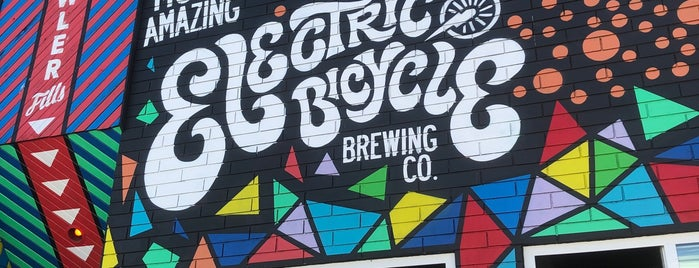 Electric Bicycle Brewing is one of Corbet's Liked Places.