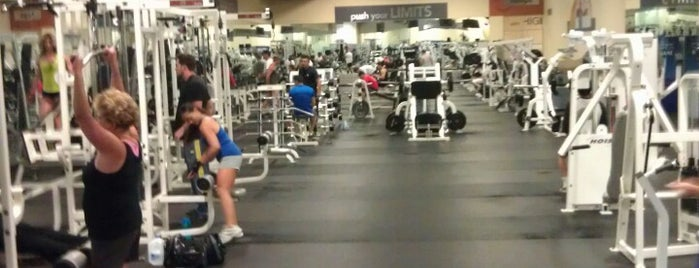 24 Hour Fitness is one of favorite places to eat.