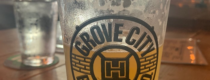 Grove City Brewing Co is one of Erica 님이 좋아한 장소.