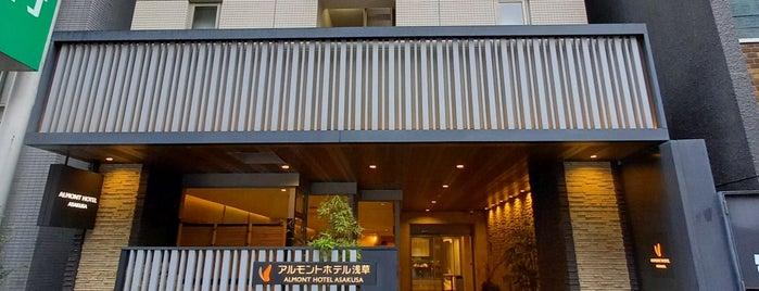 Almont Hotel Asakusa is one of Orte, die 冰淇淋 gefallen.