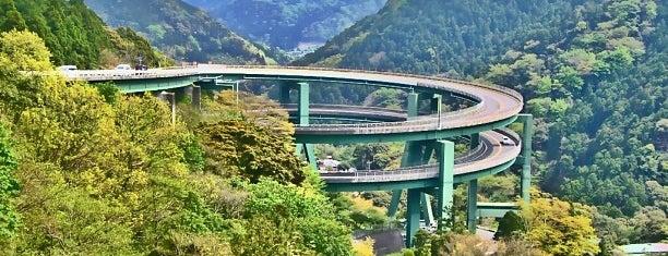 河津七滝ループ橋 is one of 伊豆.