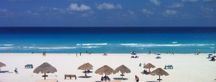 Playa Delfines (El Mirador) is one of Mexico - Tierra Azteca.