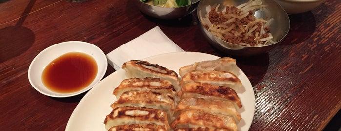 Harajuku Gyoza Lou is one of Tokyo Eats.