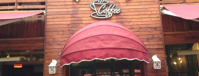 Kahverengi Coffee is one of Tempat yang Disukai Dilara.