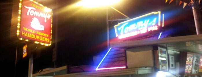 Original Tommy's Hamburgers is one of SoCal Musts.