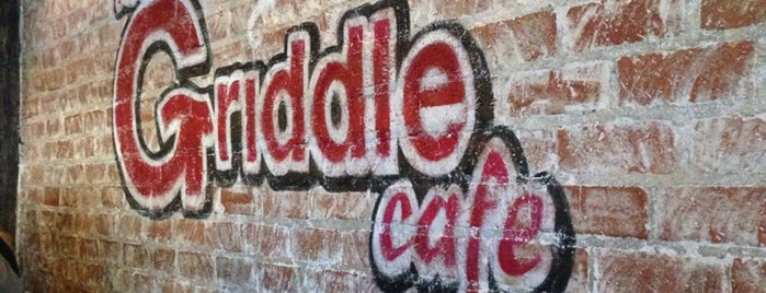 The Griddle Cafe is one of food to try.