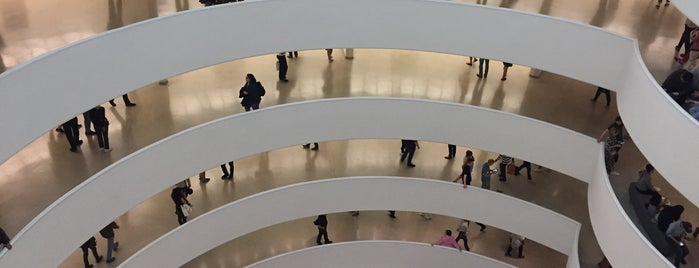 Solomon R Guggenheim Museum is one of #NYC2017.