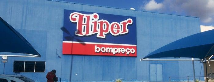 Hiper Bompreço is one of Tempat yang Disimpan Dhyogo.