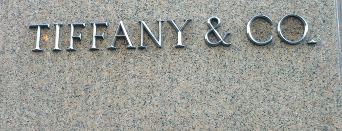 Tiffany & Co. is one of New York Places.