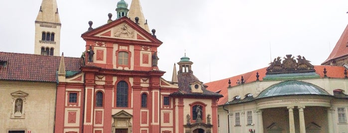Bazilika sv. Jiří is one of PRAG ist schön.