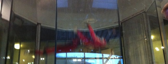 Indoor Skydiving is one of Crazy Places.