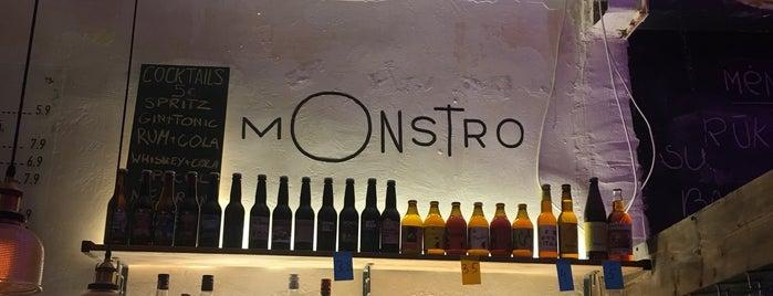 Monstro is one of Vilnius.