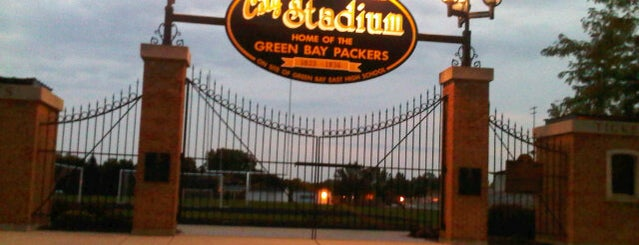 Green Bay East High School is one of Packers Heritage Trail (City Walk).