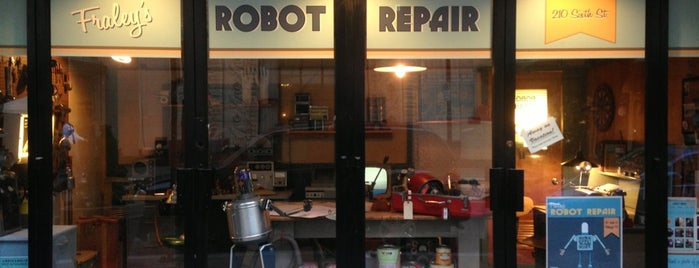 Fraley's Robot Repair is one of PGH favorites.