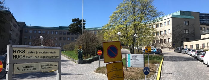 Lastenklinikka is one of Orte, die Piritta gefallen.