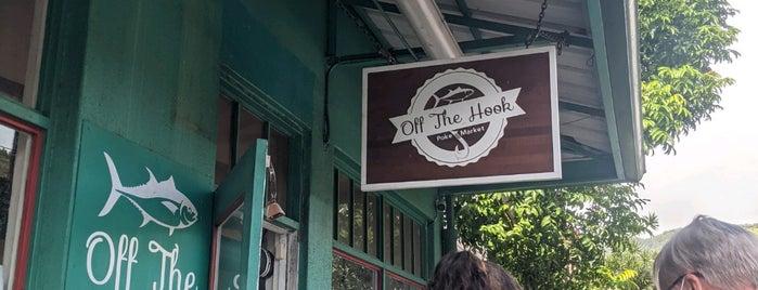 Off The Hook Poke is one of Oahu.