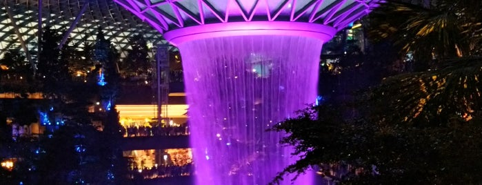 Jewel Changi Airport is one of MACさんのお気に入りスポット.