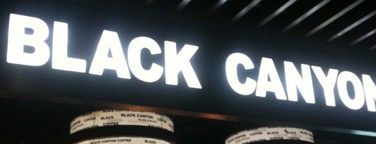 Black Canyon Coffee is one of Medan culinary spot.