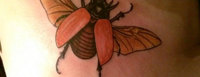 BlackHeart Tattoo is one of Locais salvos de Michele.