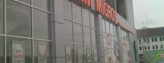 Migros is one of Locais curtidos por Sumeyra e..
