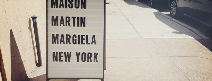 Maison Margiela is one of Shopping.