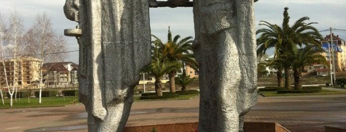 Памятник воинам-адлерцам is one of สถานที่ที่ Vlad ถูกใจ.