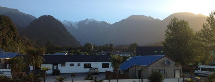 Bella Vista Motel Franz Josef Glacier is one of Jaseさんのお気に入りスポット.