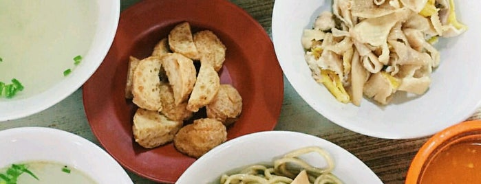 Bakmi Ayam Karet Krekot is one of #Somewhere In Jakarta.