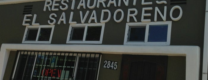 Restaurante El Salvadoreño is one of San Diego.