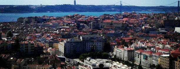 Miradouro da Senhora do Monte is one of Lisboa top 20 for tourists (and Lisboetas).