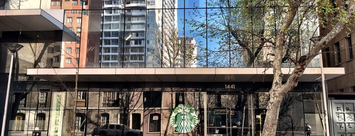Starbucks is one of Santiago.