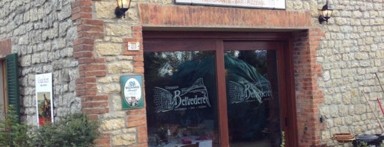 Osteria Belvedere is one of Restaurants.
