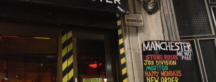 Manchester is one of Pubs de Barcelona.