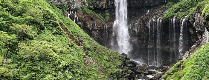 Kegon Waterfall is one of Tempat yang Disukai Brandon.