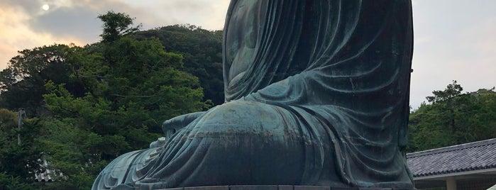 Great Buddha of Kamakura is one of Tempat yang Disukai Brandon.