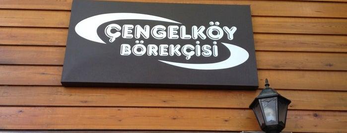 Çengelköy Börekçisi is one of İstanbul kahvaltı.