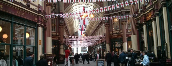 Leadenhall Market is one of UK & Ireland.