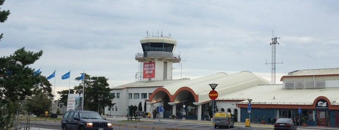 Visby Airport (VBY) is one of Aeroporto.