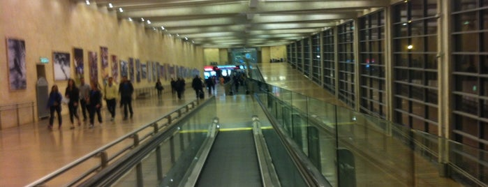 Ben Gurion International Airport (TLV) is one of Airports (around the world).