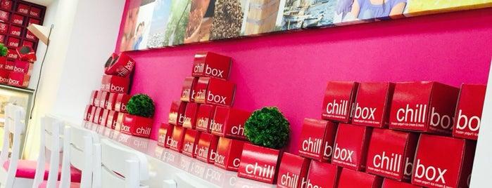 chillbox frozen yogurt is one of Saaaa 님이 저장한 장소.