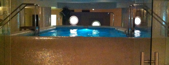 Spa by Algotherm is one of Moscow.