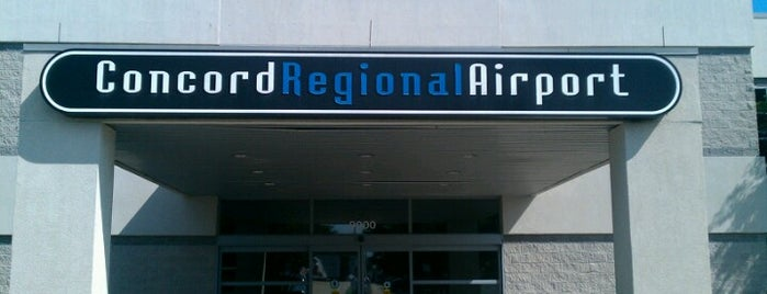 Concord Regional Airport (JQF) is one of Locais salvos de JRA.