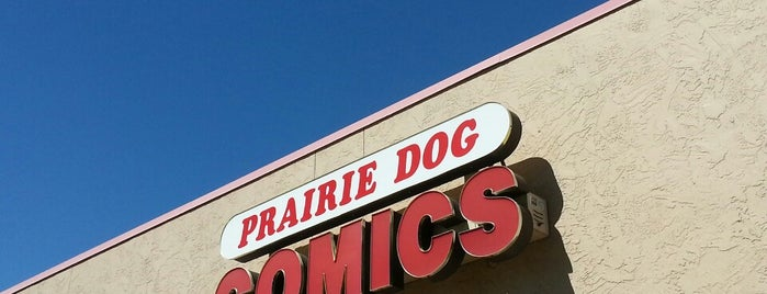 Prairie Dog Comics is one of Guide to Wichita's best spots.