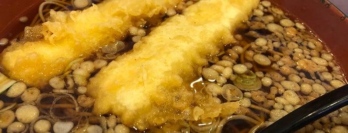 自家製麺そば処 とんぼ is one of Nyohoさんのお気に入りスポット.