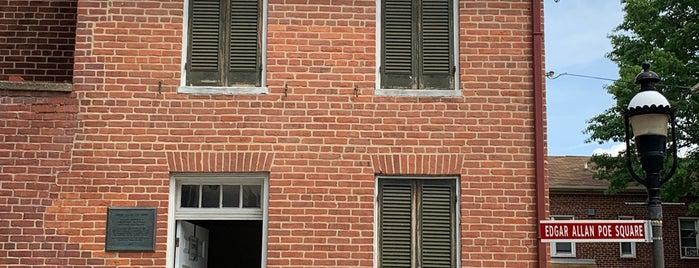 Edgar Allan Poe House & Museum is one of Gespeicherte Orte von Matt.