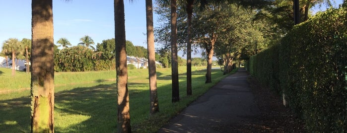 El Rio Trail is one of delray / boca raton / west palm beach.